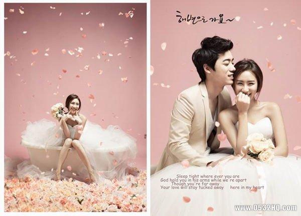 完美韩式风格婚纱照拍摄技巧