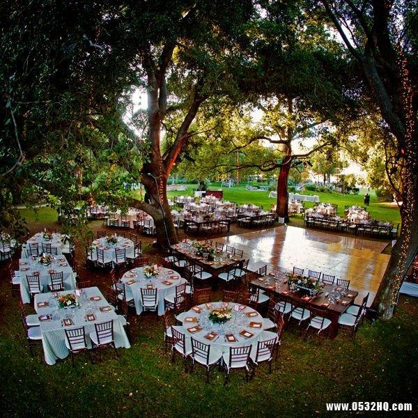 清新唯美的森林系婚礼策划创意