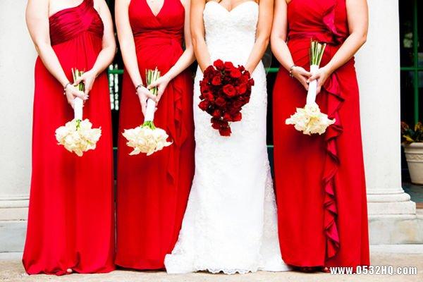 大红色主题婚礼策划方案推荐