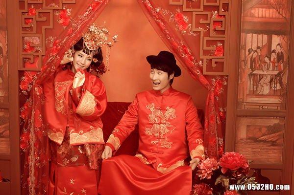 传统中式婚礼结婚闹洞房的喜话