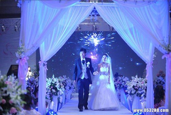 别开生面的婚礼创意入场方式