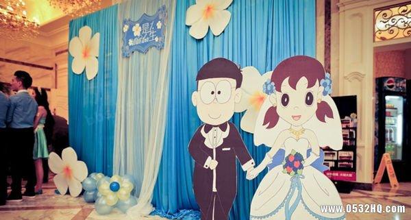 五个动漫主题婚礼 带你梦回童年