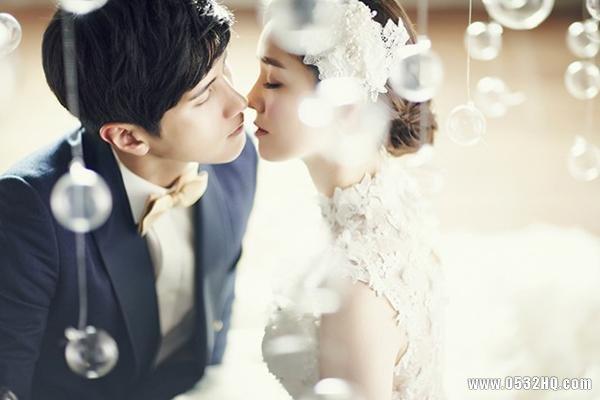 韩式婚纱照拍摄 光线运用非常重要