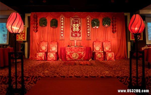 完美中式婚礼背景布置打造要点