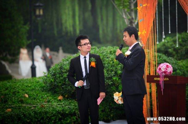 分享2015金秋世界婚礼主持词