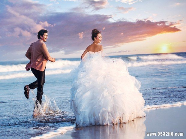 最美丽的旅游婚纱照的景点推荐