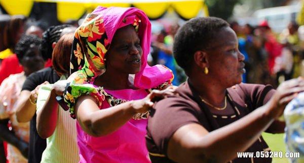 令人瞠目结舌的非洲奇特婚礼习俗