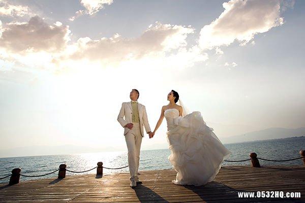 婚纱照上镜小技巧 拯救矮小新娘