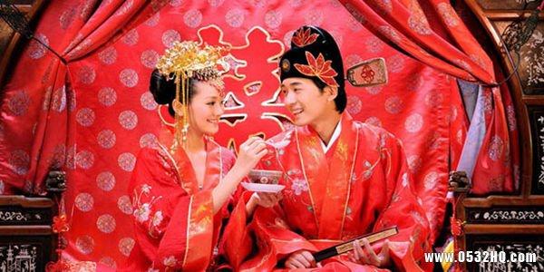 中国地方婚礼各有不同的婚礼习俗