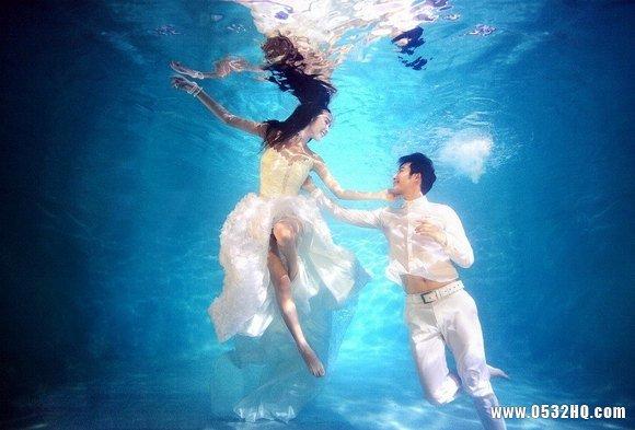 水下婚纱照为什么这么受欢迎?