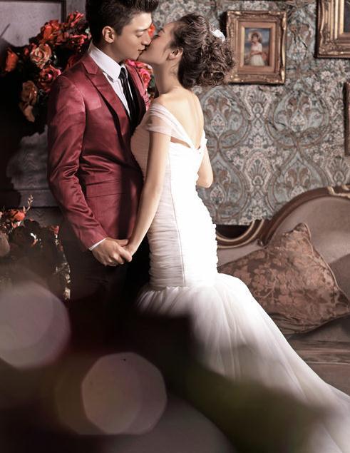 欧式复古婚纱照欣赏