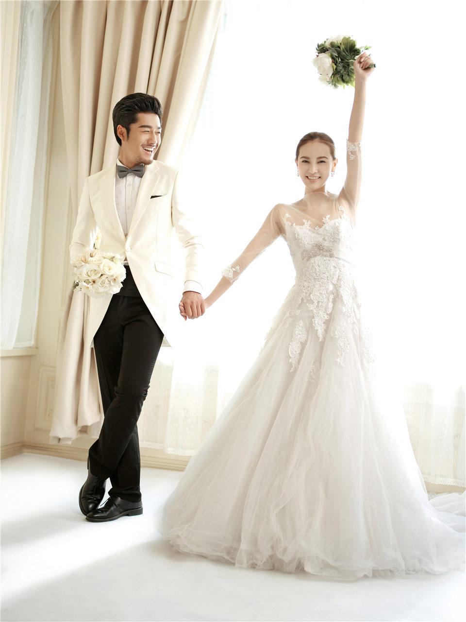 浪漫幸福的韩式婚纱照欣赏