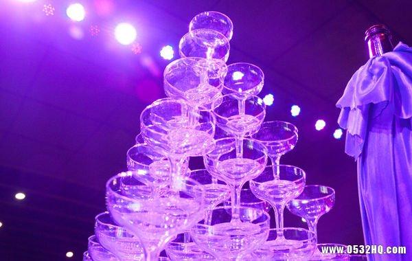 婚礼香槟塔怎么摆放的十个要点