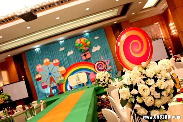 婚礼糖果配色方案 打造鲜亮婚礼