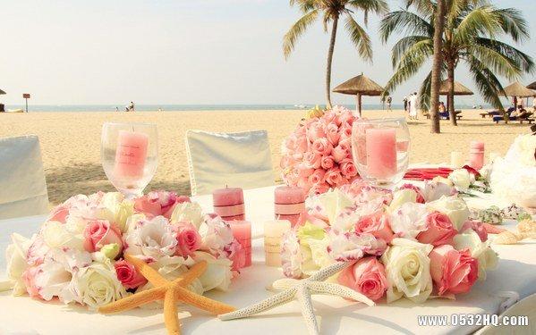 夏季沙滩婚礼