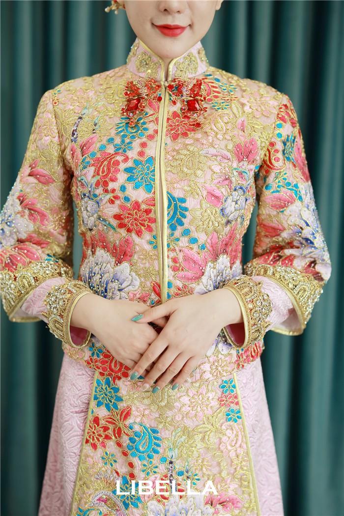 马来褂中式礼服欣赏