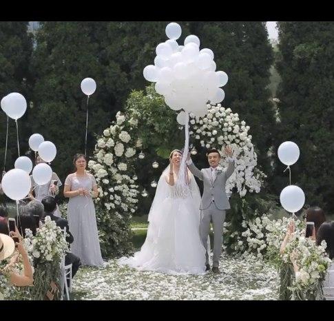 户外婚礼视频欣赏