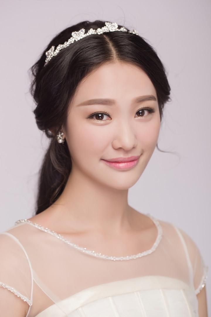 韩式新娘化妆造型图片