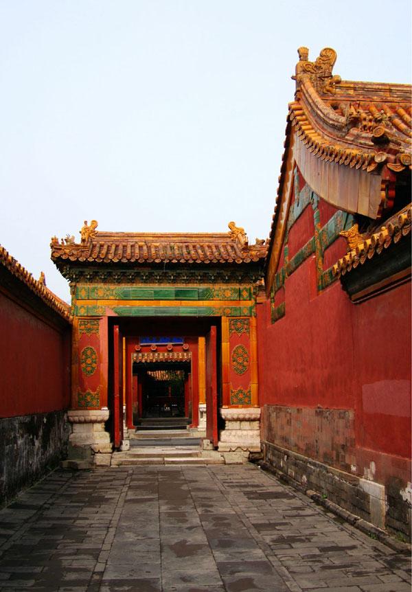 北京紫禁城皇家风光