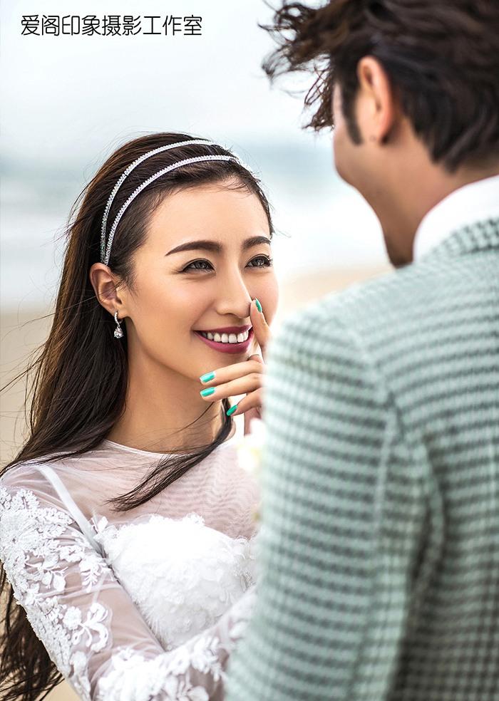 海滩婚纱照欣赏
