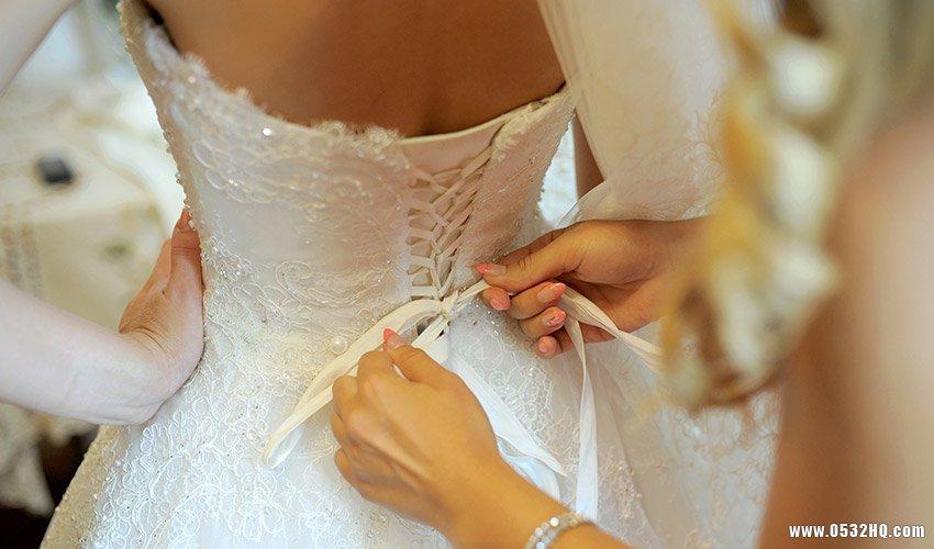 婚纱穿完后应该怎样处理与保存